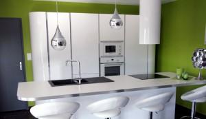 cuisine-aménagée-verte