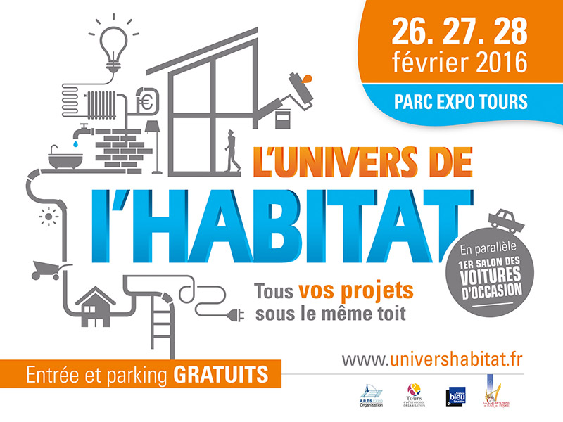 Salon l'Univers de l'Habitat Tours et Chinon